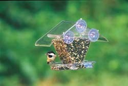 Wild Birds Unlimited Double Tray Window Feeder